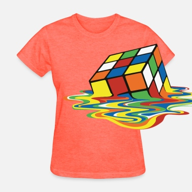 Spreadshirt 15 Year Best Selling Designs meltingcube - Women's T-Shirt