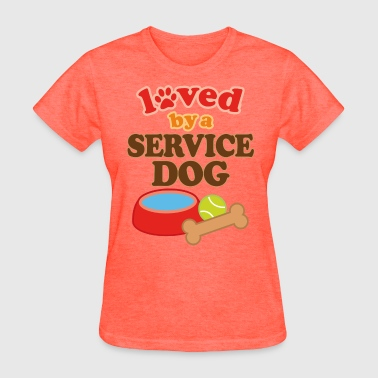 Service Dog Owner Gift - Women's T-Shirt