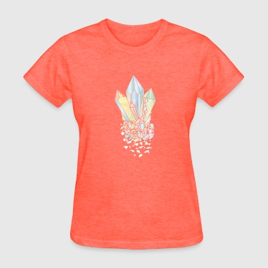 Pastel colored minerals - Women's T-Shirt