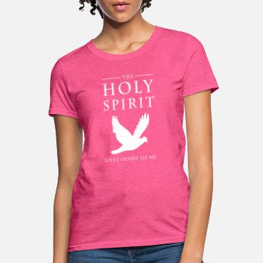 Holy Jesus is Lord, saves, bible, Christ, Holy Spirit - Women's T-Shirt