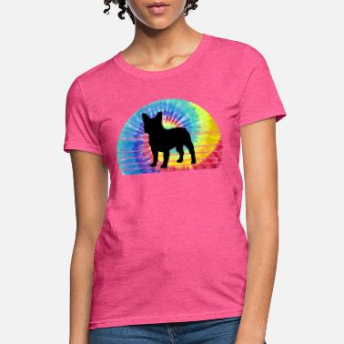 French Bulldog Tie Dye - Women's T-Shirt