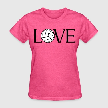 Volleyball Love - Women's T-Shirt
