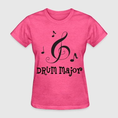 Drum Major Marching Band Music - Women's T-Shirt