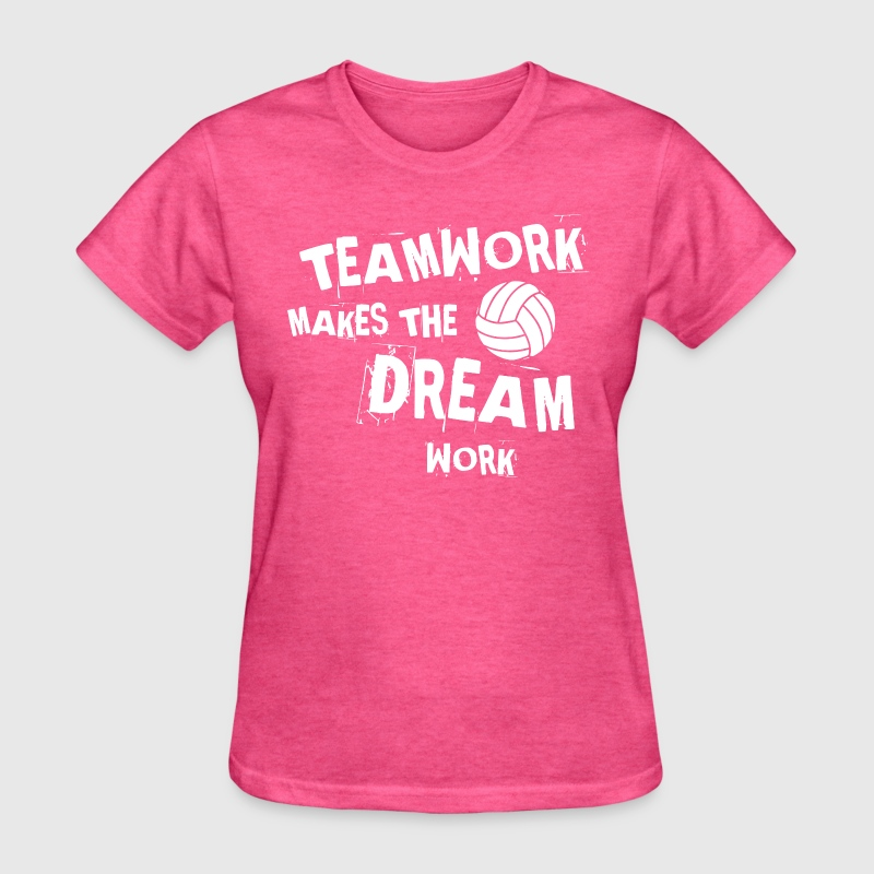 Volleyball Teamwork - Women's T-Shirt