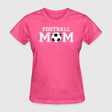 Football Mom soccer fan - Women's T-Shirt