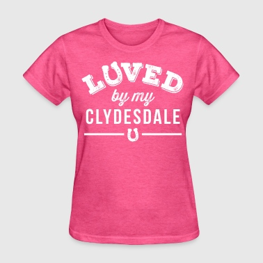 Clydesdale Horse Gift - Women's T-Shirt