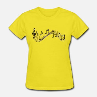 Music Note Musical Notes - Women's T-Shirt