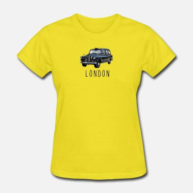 Taxi Classic London Black Taxi British for London Lover - Women's T-Shirt