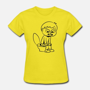 Wc wc little boy - Women's T-Shirt