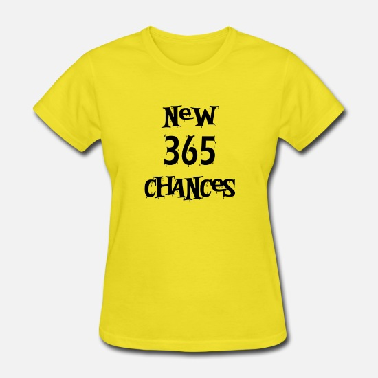 New Orleans T-Shirts - New 365 chances t-shirt design - Women's T-Shirt yellow