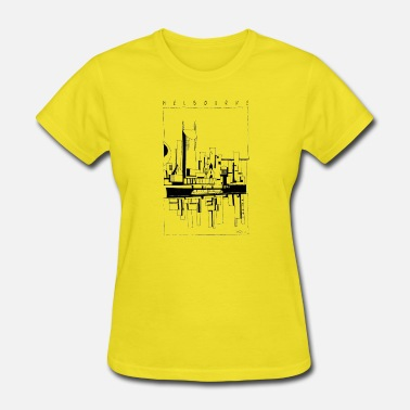 Abstract Abstract MELBOURNE - Women's T-Shirt
