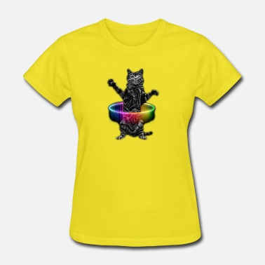 Hula HULA HOOP CAT - Women's T-Shirt