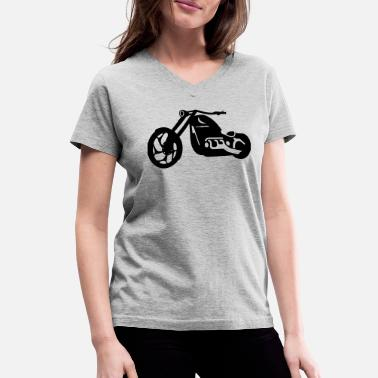 Chopper chopper - Women's V-Neck T-Shirt