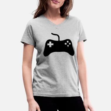 Video Game Console Gaming Console - Women's V-Neck T-Shirt