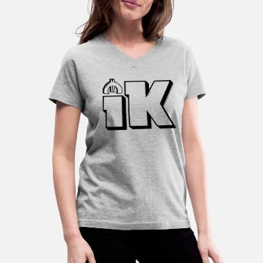1k4 - Women's V-Neck T-Shirt