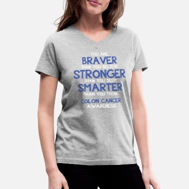 Shop Colon Cancer Awareness T Shirts Online Spreadshirt