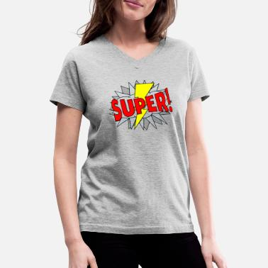 Comic Comic - Women's V-Neck T-Shirt
