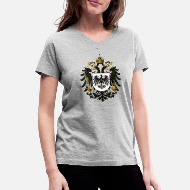 Prussia Symbol of Neoprussia - Women's V-Neck T-Shirt