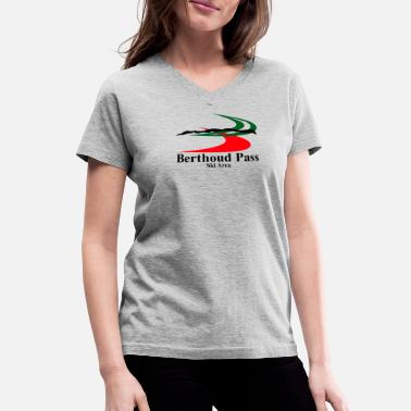 Passierschlag Berthoud-Pass-Ski-Area Y736 Trusted - Women's V-Neck T-Shirt