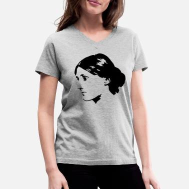 Literature Virginia Woolf - Women's V-Neck T-Shirt