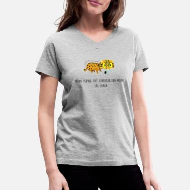 Animaux animaux - T-shirt col V Femme