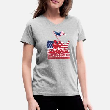 Canada Independence Day Independence Day - Women's V-Neck T-Shirt