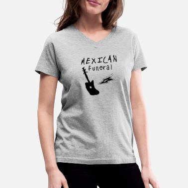 Gently Mexican funeral Dirk Gently - Women's V-Neck T-Shirt