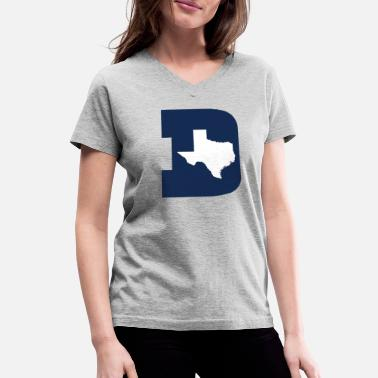 Dallas dallas - Women's V-Neck T-Shirt