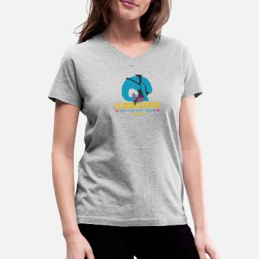 Element 5th Element Tour - Women's V-Neck T-Shirt