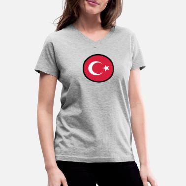Anatolia In A Sign Of Turkey - Women's V-Neck T-Shirt