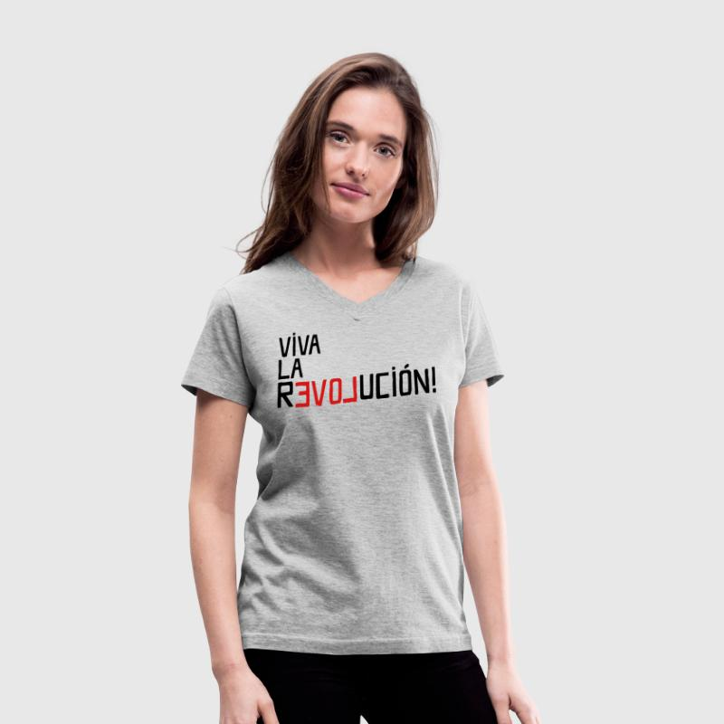 Viva La Revolution - Women's V-Neck T-Shirt