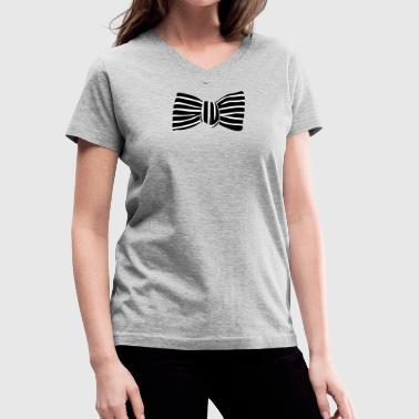 Bowtie - Women's V-Neck T-Shirt