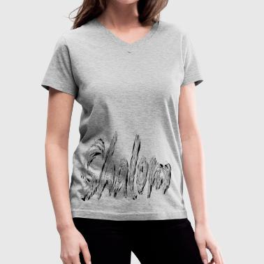 SHALOM - Women's V-Neck T-Shirt