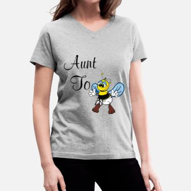 Aunt To Bee Aunt To Bee - Women's V-Neck T-Shirt