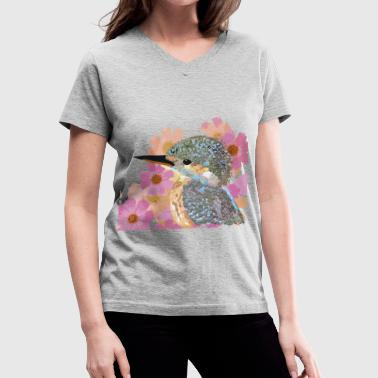 Ave floral - Women's V-Neck T-Shirt