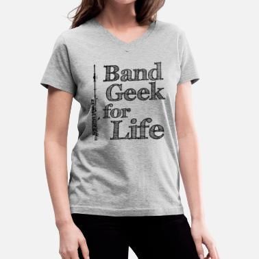 ed39b991 Women's Rolled Sleeve T-Shirt. Band Geek. from $27.49. Piccolo Band Geek -  Women's V-Neck ...
