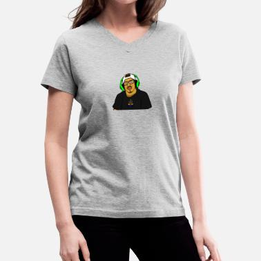 Profile Graphics Profile pic - Women's V-Neck T-Shirt