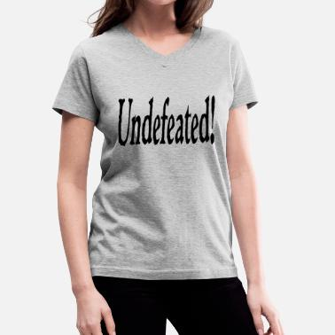 Undefeated undefeated - Women's V-Neck T-Shirt