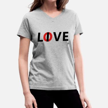 Hardknocks Love live - Women's V-Neck T-Shirt