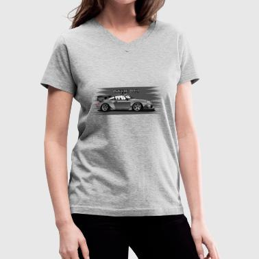 Rwb RWB number one - Women's V-Neck T-Shirt