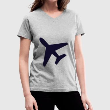 Airport Code Airport - Women's V-Neck T-Shirt