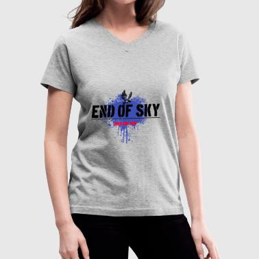 Low End end of sky - Women's V-Neck T-Shirt