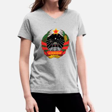 Kornkreise Socialist Republic of Aldebaran - Women's V-Neck T-Shirt