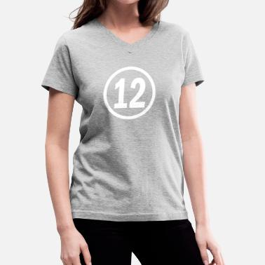 12. Birthday 12 years old birthday - Women's V-Neck T-Shirt