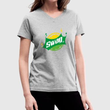 Swag New SWAG - Women's V-Neck T-Shirt