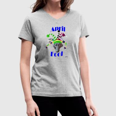 April Fool - Women's V-Neck T-Shirt