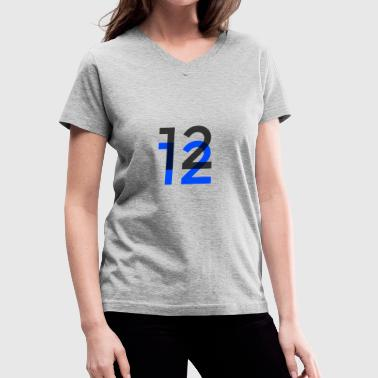 12/12 - Women's V-Neck T-Shirt