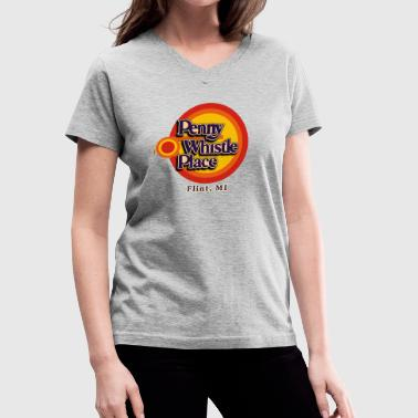 Penny Whistle Place - Women's V-Neck T-Shirt
