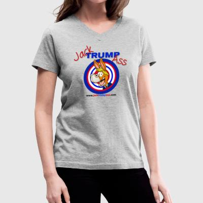 Jack Trumpass Hoodies! - Women's V-Neck T-Shirt
