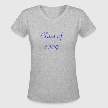 Class of 2009 - Women's V-Neck T-Shirt